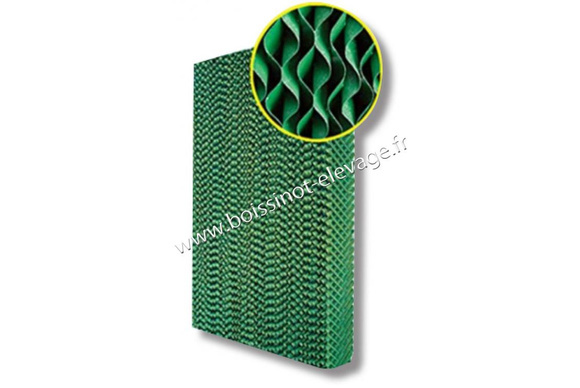PROMO - Pad cooling ép:100 - lrg:600 - h:2m - sup:1.2m²