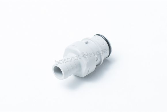 About de coupleur cannelé D.1/2 (12.7 mm) ID en PP