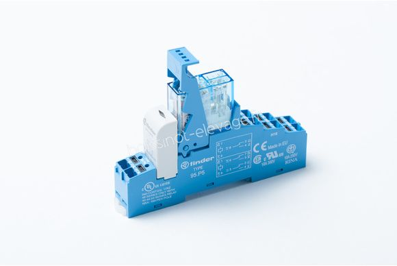 Relais 2RT 8A LED 24Vdc prêt à câbler