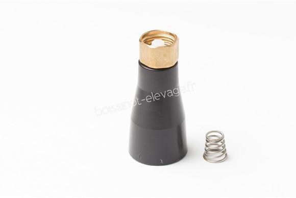 1 robinet inférieur laiton + ressort F40/60/110