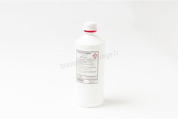 Acide sulfurique pour batterie 37.4 % - le litre