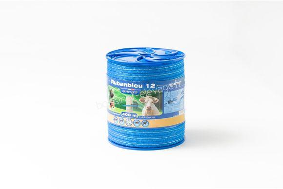 Bobine ruban bleu 12mm - 400m