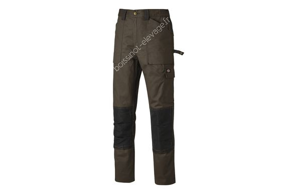 Pantalon GDT290 - marron/noir
