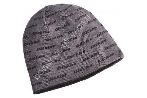 Bonnet noir/gris