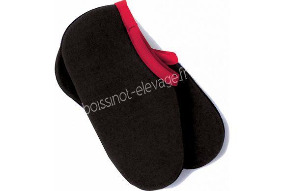 Chaussons pour bottes - noir