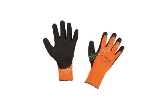 Gants Power Grab Thermo - orange