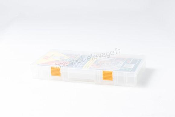 Boîte de rangement modulable 4 à 24 compartiments 36x22x4cm