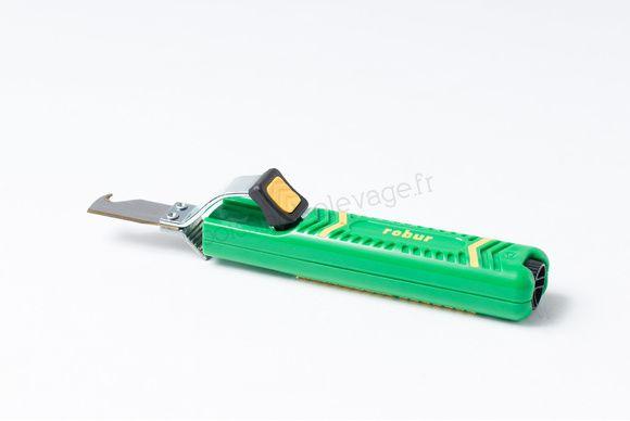 Couteau A Degainer Lame Crochet 228002