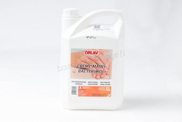 Crème mains bactéricide - 5L