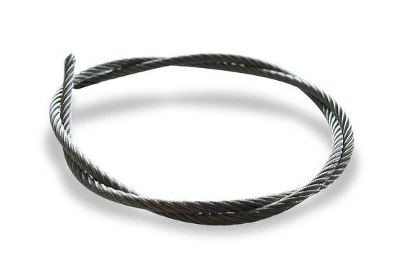 Câble acier galvanisé 7x19 (extra souple) Ø5mm - le mètre