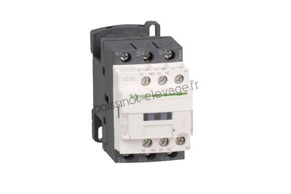 Contacteur LC1D 380V 1F+O