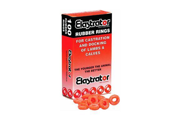 Anneau de gomme Elastrator - boîte de 100