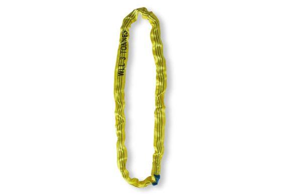 Elingue textile jaune ronde 3T 3m