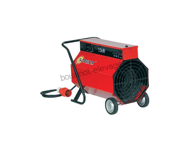 Promo Chauffage air pulsé mobile électrique C15
