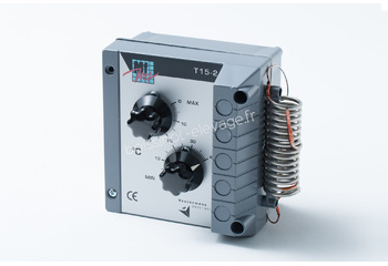 Thermostat mécanique T15 double