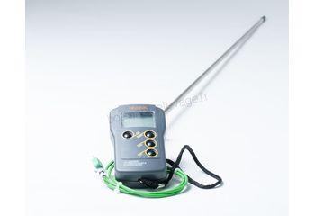 Thermomètre pour fourrage complet avec sonde 1M