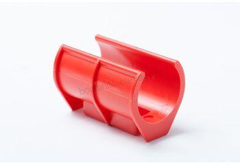 Obturateur plastique spire mat 45