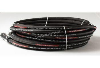 Flexible haute pression R2T 3/8 noir