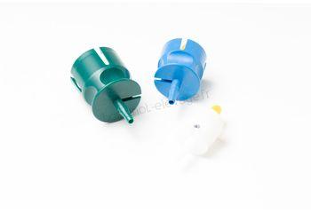 Kit porte flacon Ecomatic blanc bleu et vert