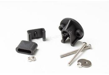 Kit PVC pour fixer 4 bras coupés pour module ou cheminée