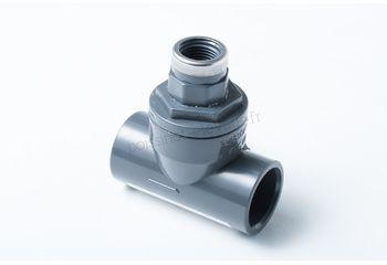 Clapet ar équipé pr injection D.32