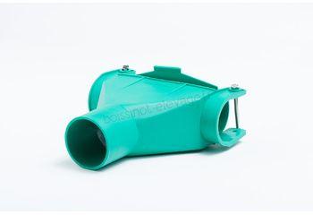 Piquage plastique ø60 + vanne/desc ø80