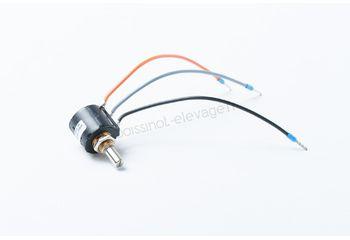 Potentiometre de 5 tours cable