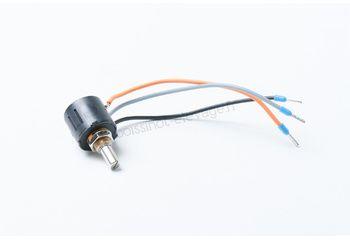 Potentiomètre de 10 tours câble