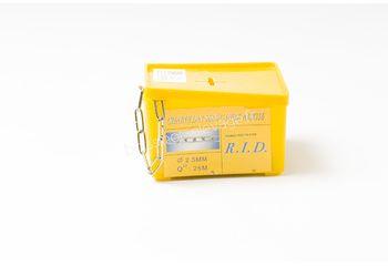 Chaine DIN 5685/C Ø 2,5mm inox 316 - le mètre