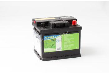 Batterie clôture 12V 55Ah avec acide