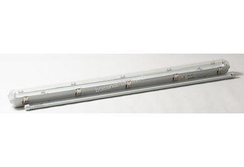 Luminaire polycarbonate 1.20m - avec 1 tube LED 18W (non dimmable)