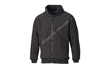 Veste polaire EISENHOWER FLEECE - noir