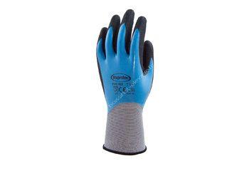 Gants polyamide tout enduit nitrile bleu T10