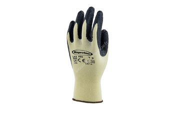 Gants support nylon jaune enduit et latex naturel