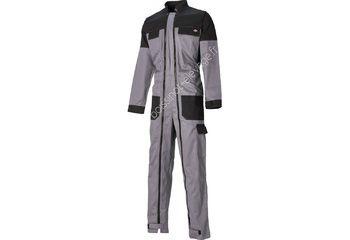 Combinaison GDT210 double zippée - gris/noir