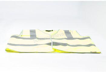 Gilet sécurité visibilité jaune