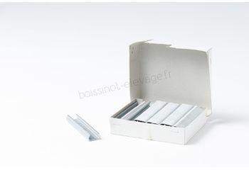 Agrafes grillage HR22 galva - 1000 pièces