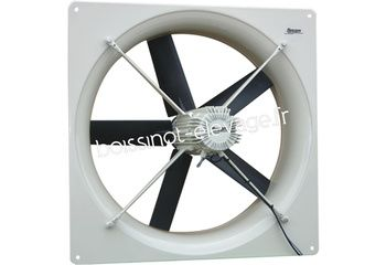 Ventilateur triphasé F-3435 - Ø 35 - 3710 m3/h - 157 Watts - 0,34 Amp. - 46 dB