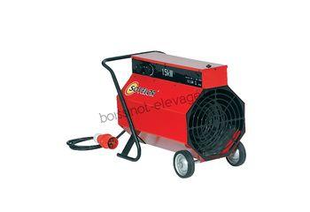 Chauffage air pulsé mobile électrique