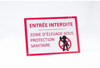 Panneau de protection sanitaire