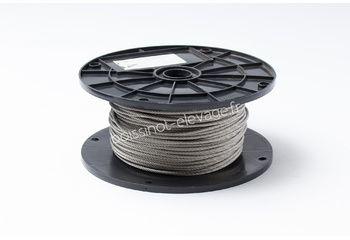 Câble inox 7x19 Ø4mm - le ml
