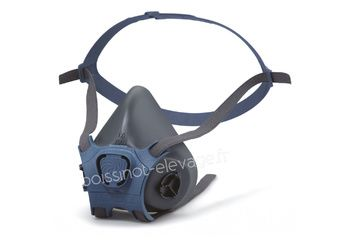 Demi-masque double filtre Moldex 7002 (vendu sans filtres)
