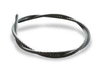 Câble acier galvanisé 7 x 19 (extra souple) Ø 8mm - le mètre