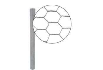 Grillage TT galva hexagonal 40mm - L50m-H100cm-Ø0,90mm