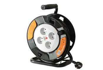 Enrouleur électrique 25m - 3xG1.5mm²