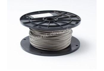 Câble inox 7x19 Ø3mm - le ml