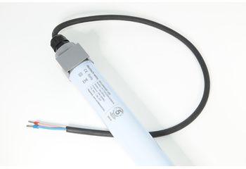 Tube LED étanche non régulable 6000°K - 23 W - 120 cms - angle 180° - 1 cable