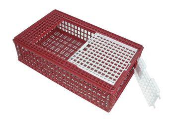 Cage de transport plastique pour volaille