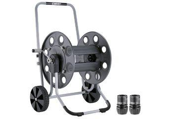 Dévidoir de tuyau sur roulettes Metal Gemini
