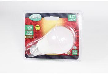 Ampoule LED E27 dépolie 10w non gradable - 3000K - 73871